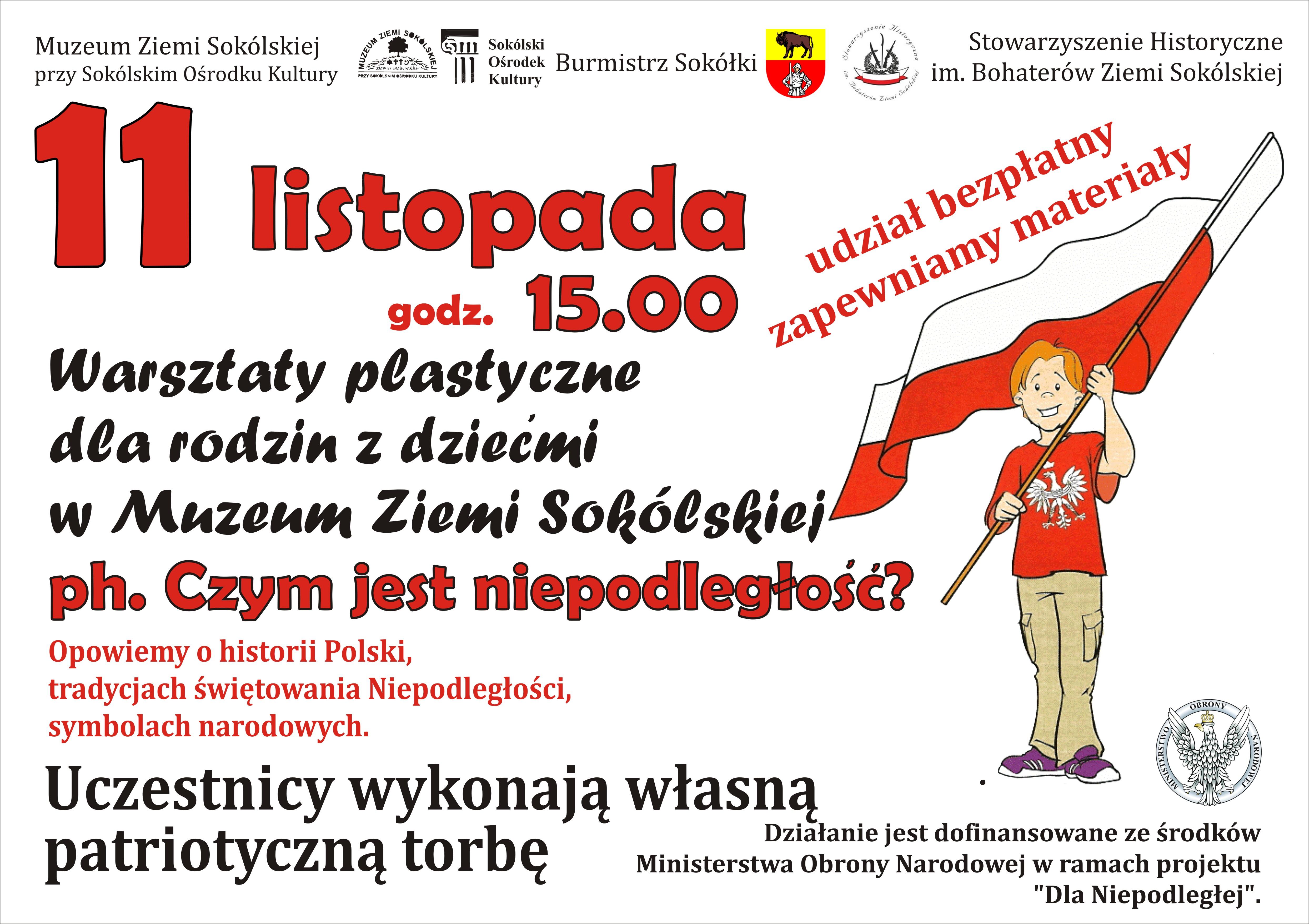 Porozmawiajmy O Niepodległości Plakat